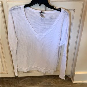 Hard Tail thermal XS white long sleeve top